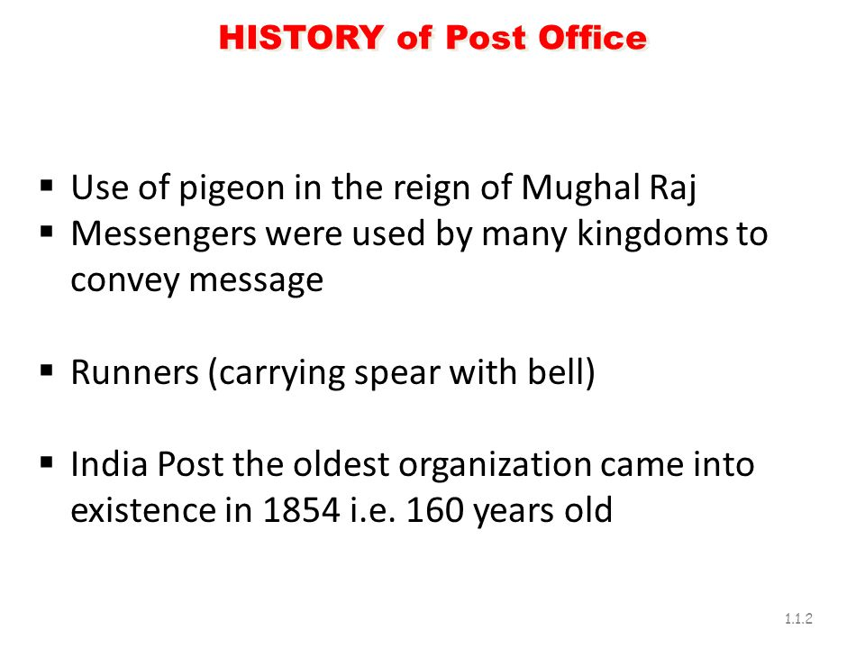 Use of pigeon in the reign of Mughal Raj