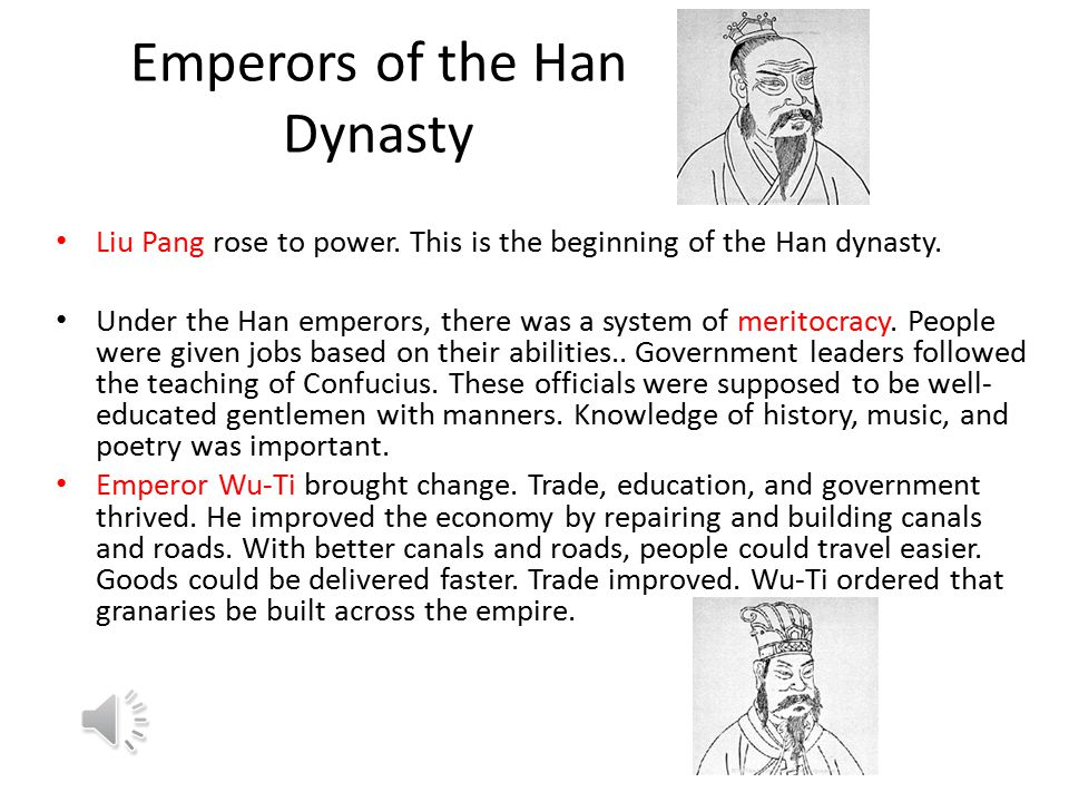 Emperors of the Han Dynasty