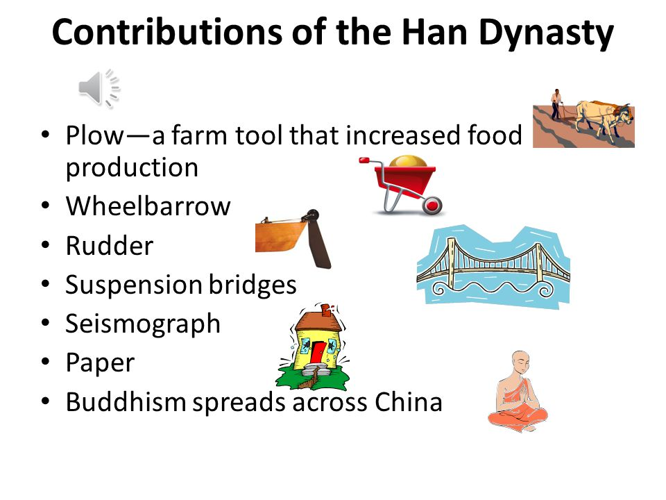 Contributions of the Han Dynasty