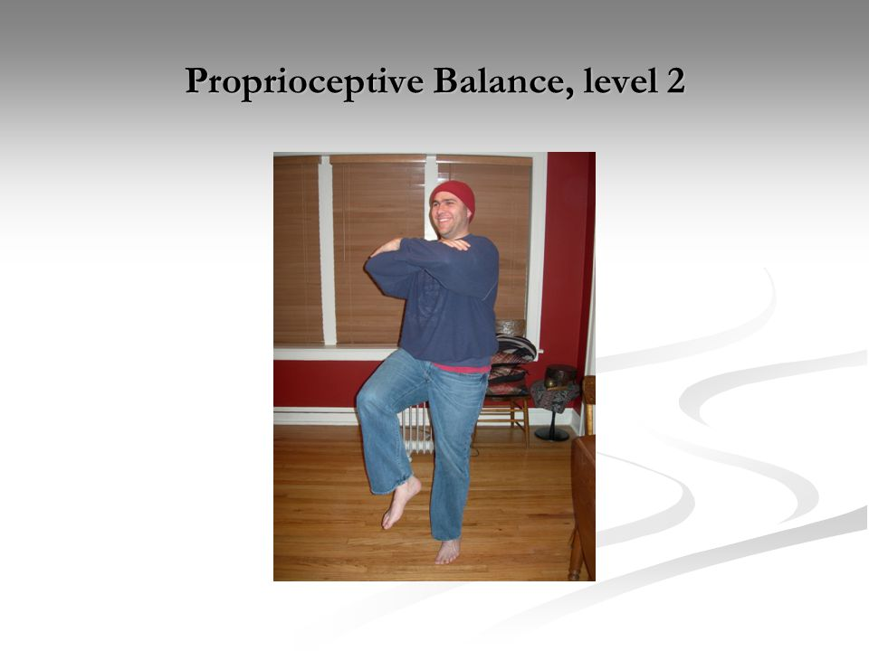 Proprioceptive Balance, level 2