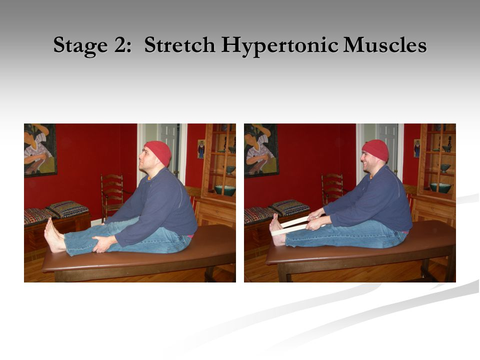 Stage 2: Stretch Hypertonic Muscles