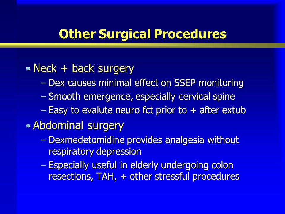 Other Surgical Procedures
