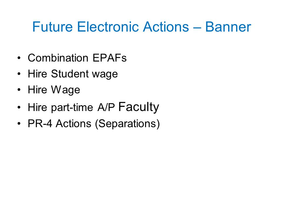 Future Electronic Actions – Banner