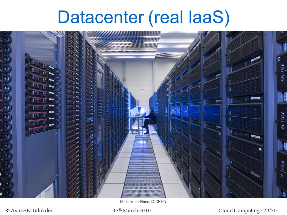 Datacenter (real IaaS)