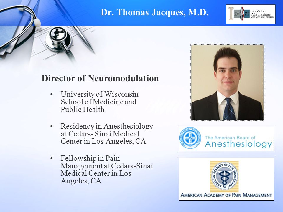 Director of Neuromodulation