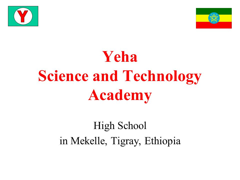 Yeha Science and Technology Academy