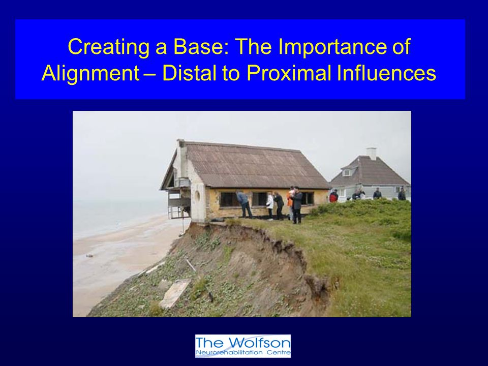 Creating a Base: The Importance of Alignment – Distal to Proximal Influences