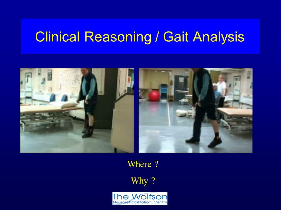 Clinical Reasoning / Gait Analysis