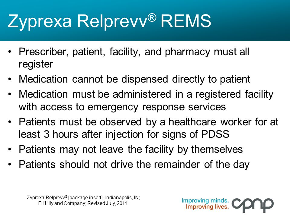 Zyprexa Relprevv® REMS