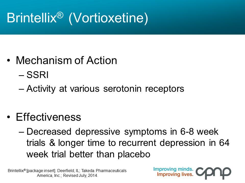 Brintellix® (Vortioxetine)