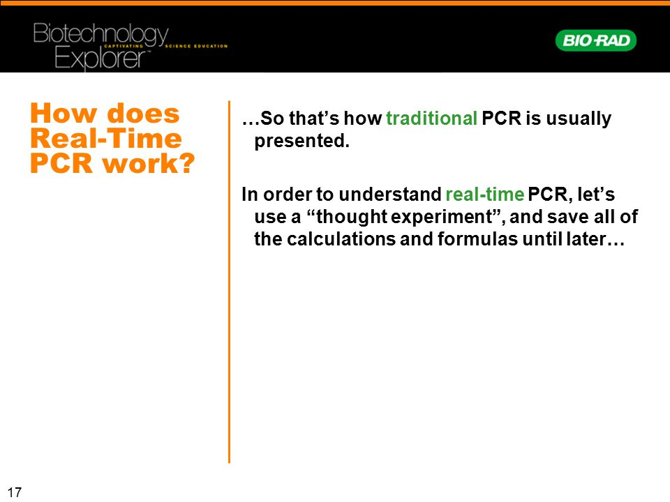 How does Real-Time PCR work