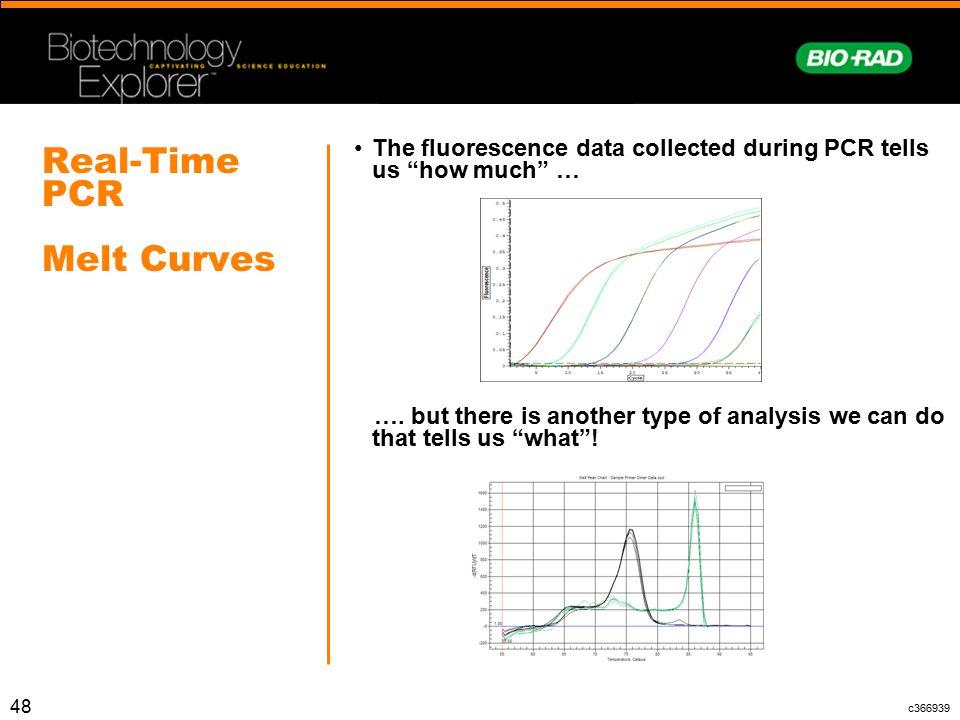 Real-Time PCR Melt Curves