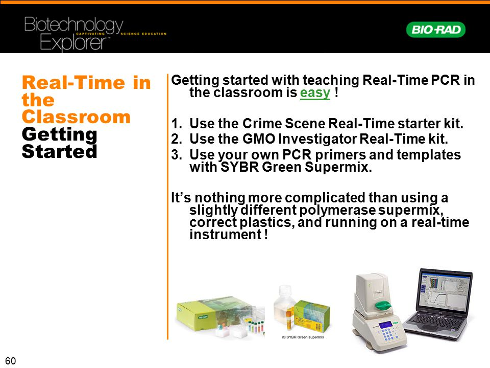 Real-Time in the Classroom Getting Started