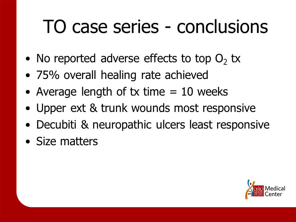 TO case series - conclusions