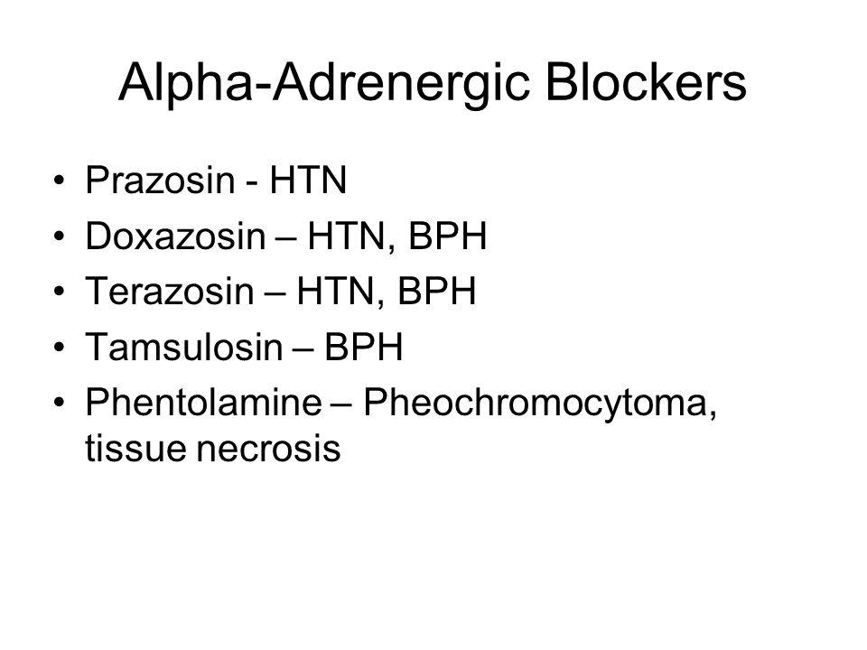 Alpha-Adrenergic Blockers