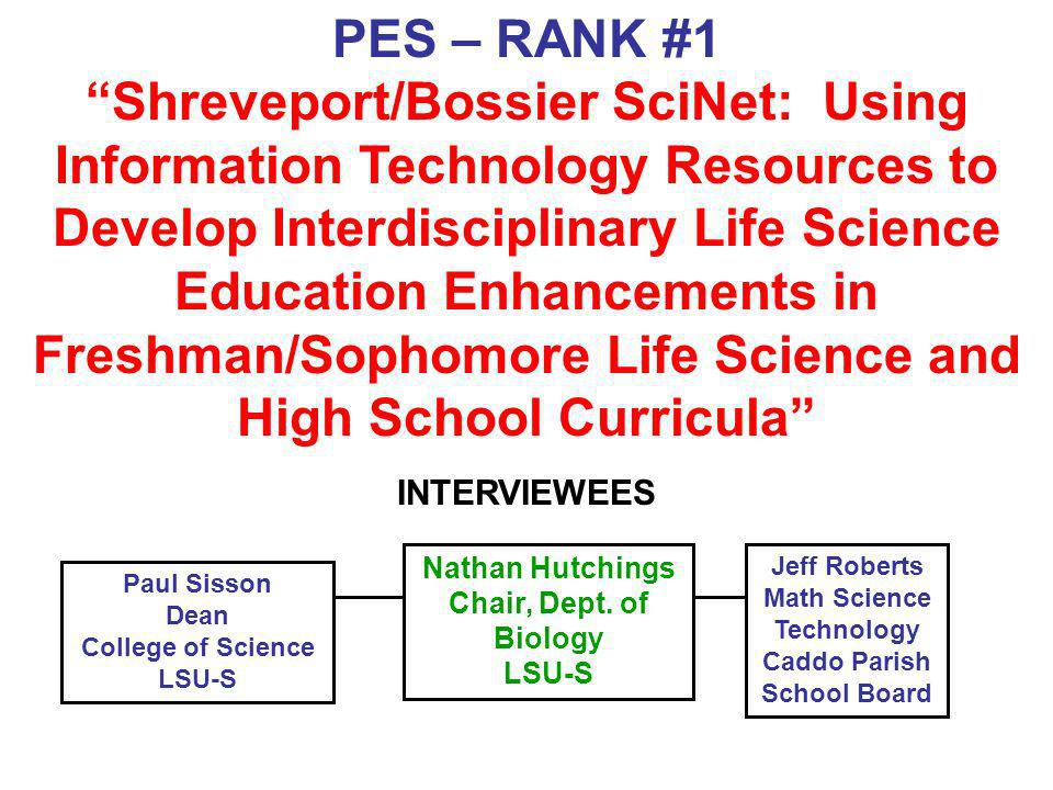Math Science Technology Caddo Parish School Board
