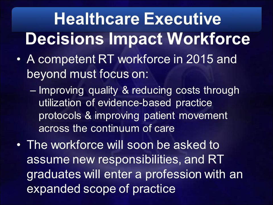 Healthcare Executive Decisions Impact Workforce