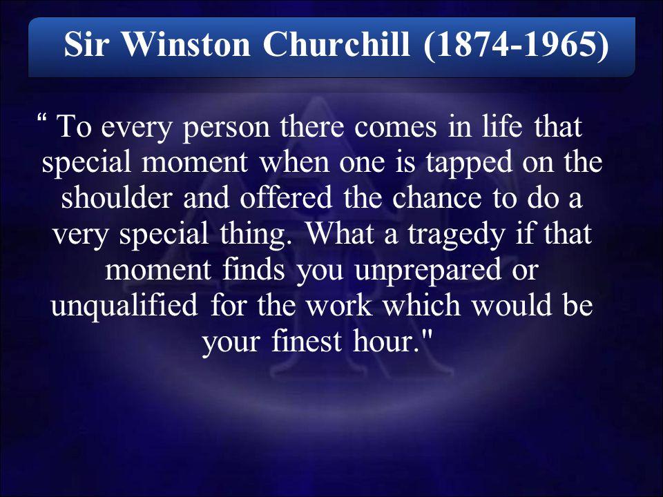 Sir Winston Churchill (1874-1965)