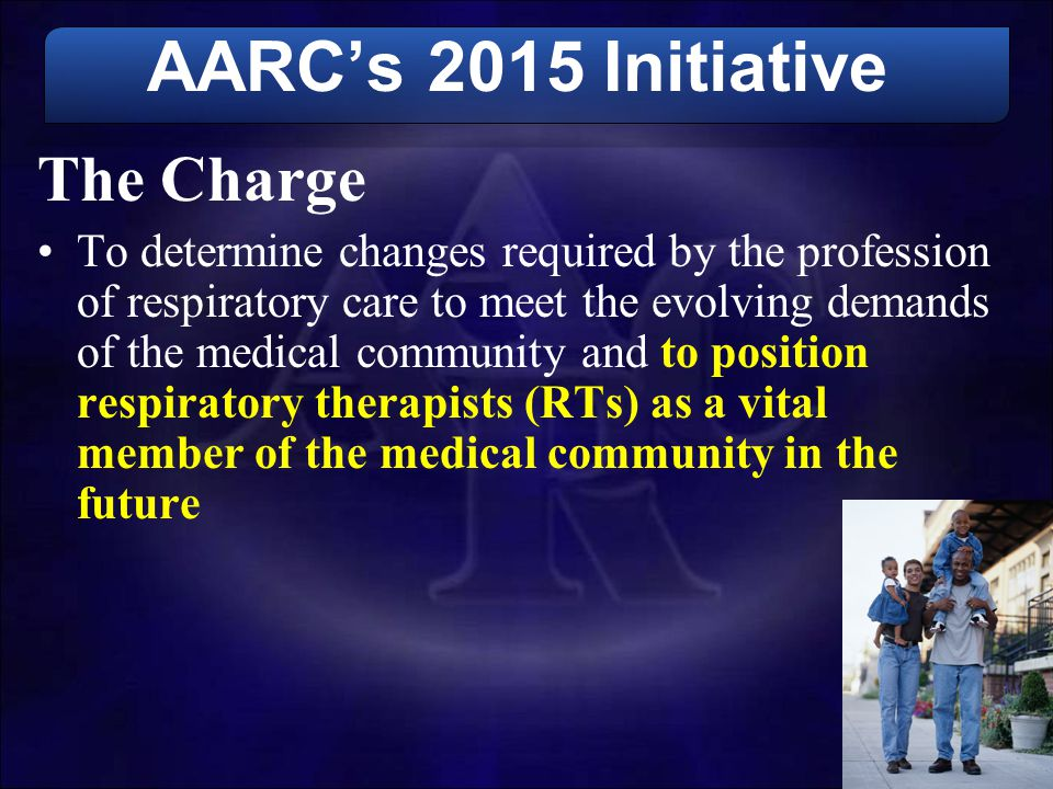 AARC's 2015 Initiative The Charge