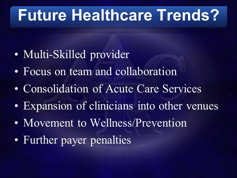 Future Healthcare Trends