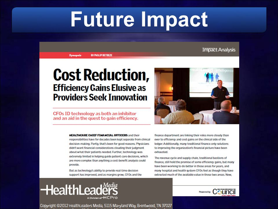 Future Impact
