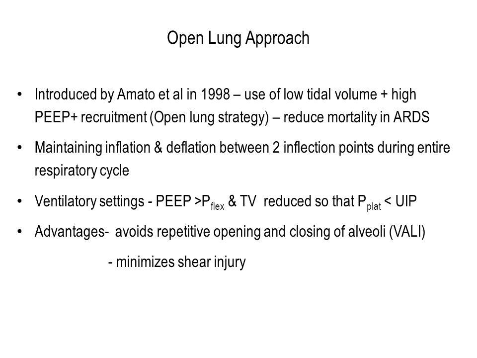 Open Lung Approach