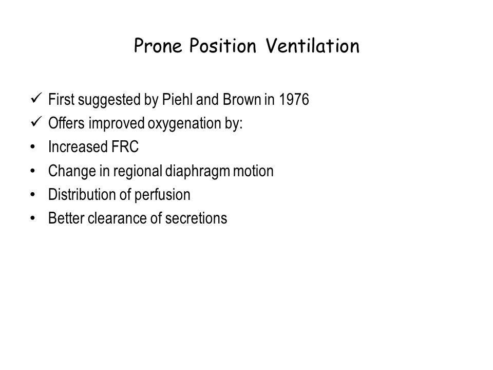 Prone Position Ventilation