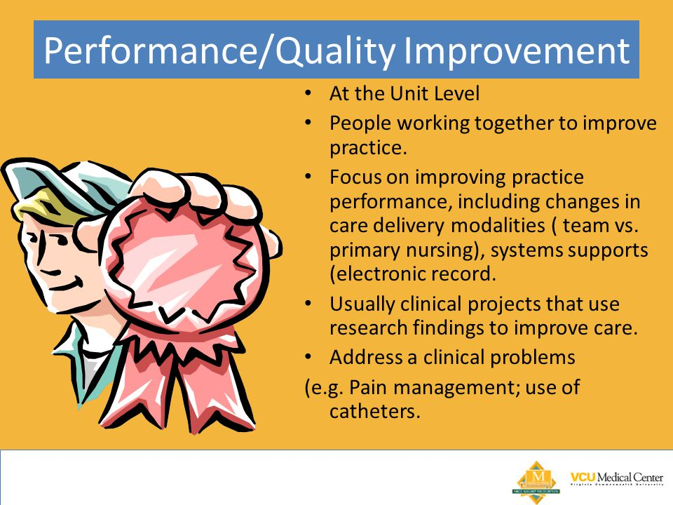 Performance/Quality Improvement