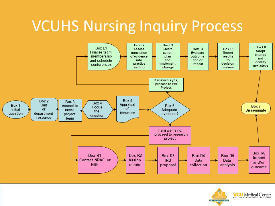 VCUHS Nursing Inquiry Process