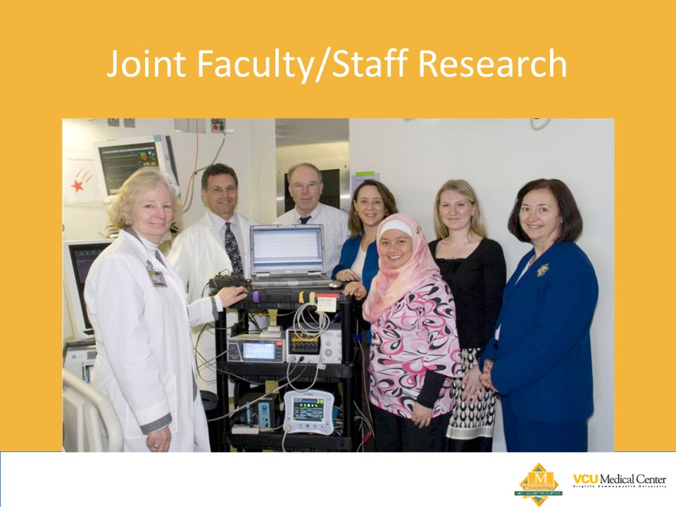Joint Faculty/Staff Research