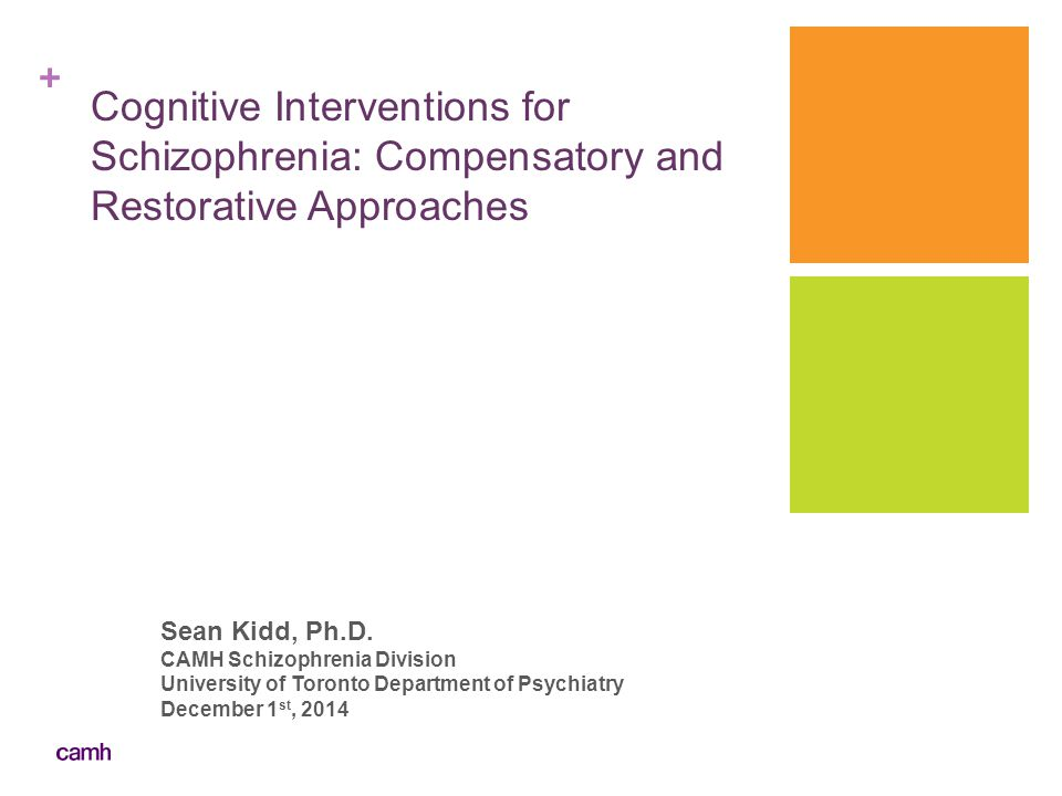 Cognitive Interventions for Schizophrenia: Compensatory and Restorative Approaches
