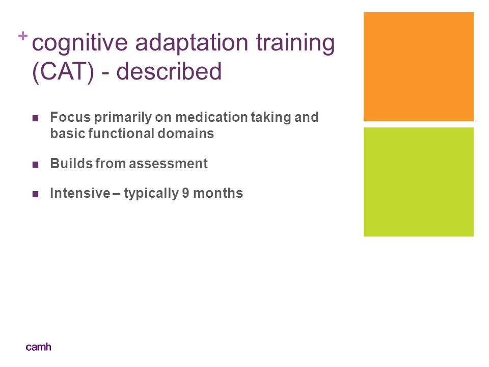 cognitive adaptation training (CAT) - described