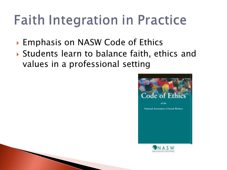 Faith Integration in Practice