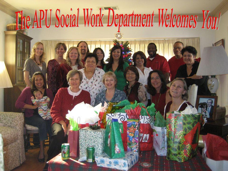 APU Social Work Department