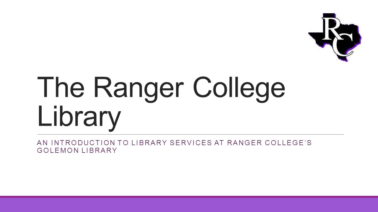 The Ranger College Library