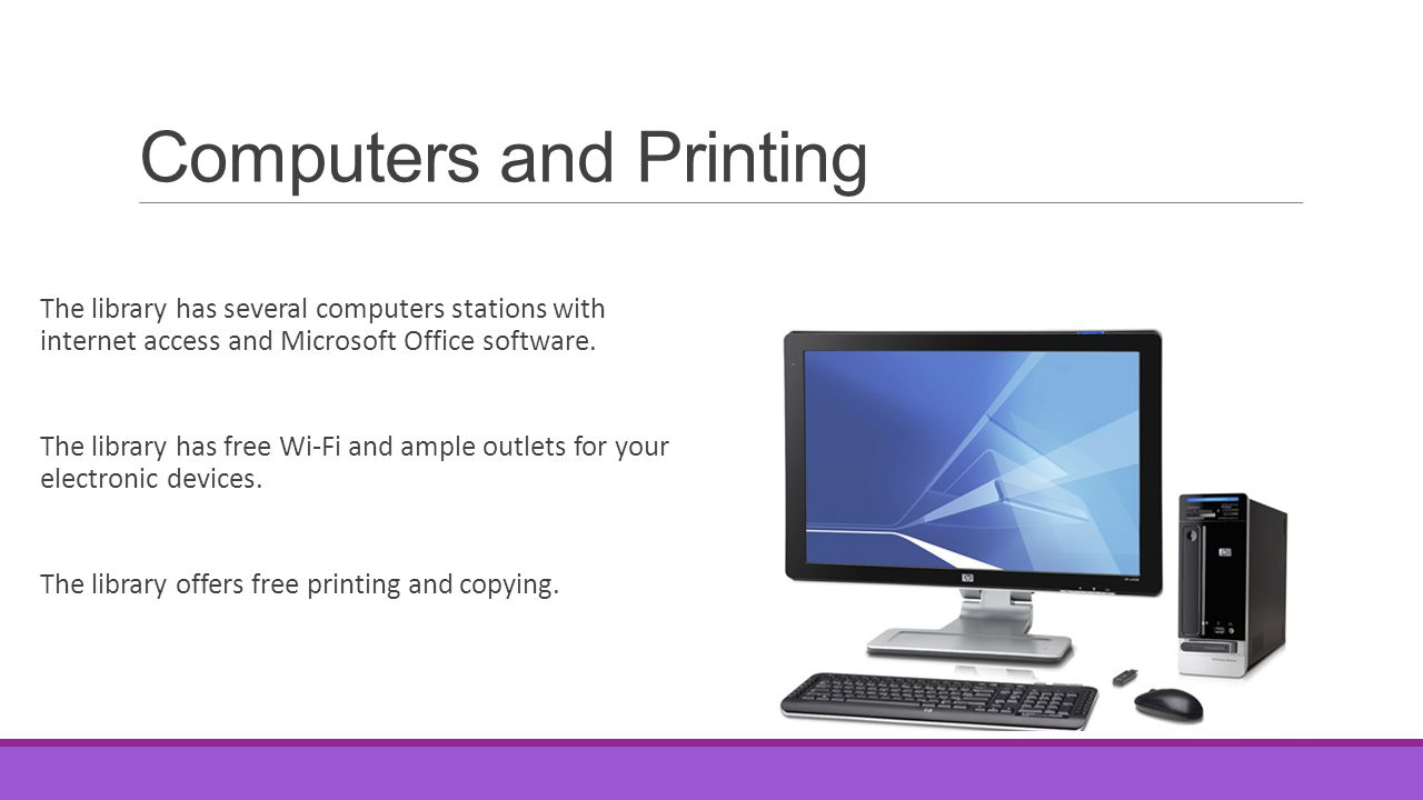 Computers and Printing