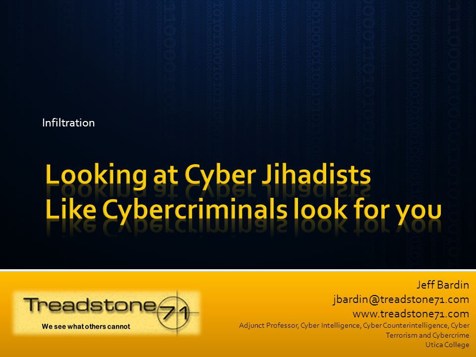 Looking at Cyber Jihadists Like Cybercriminals look for you