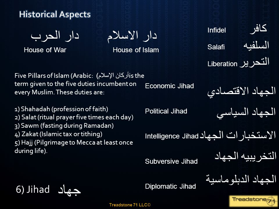 جهاد دار الحرب دار الاسلام كافر السلفيه التحرير الجهاد الاقتصادي
