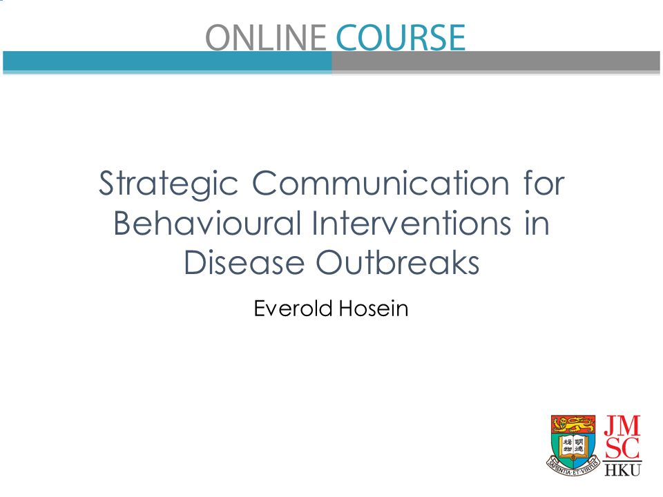Strategic Communication for Behavioural Interventions in Disease Outbreaks