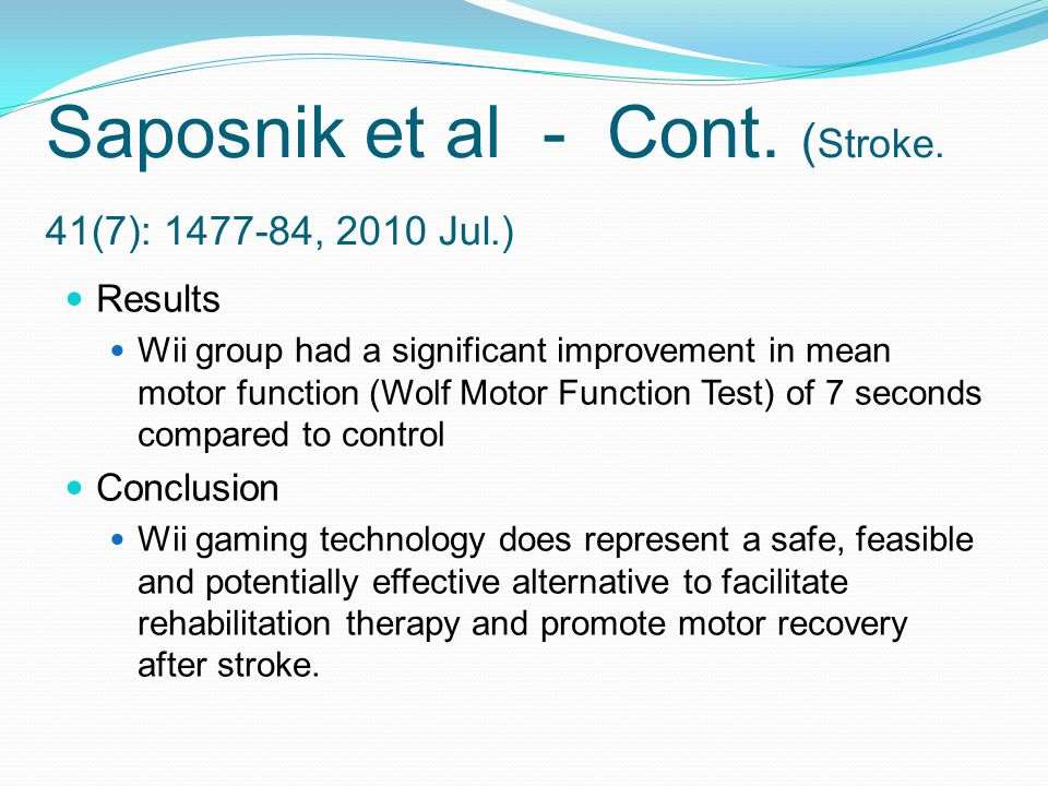 Saposnik et al - Cont. (Stroke. 41(7): 1477-84, 2010 Jul.)