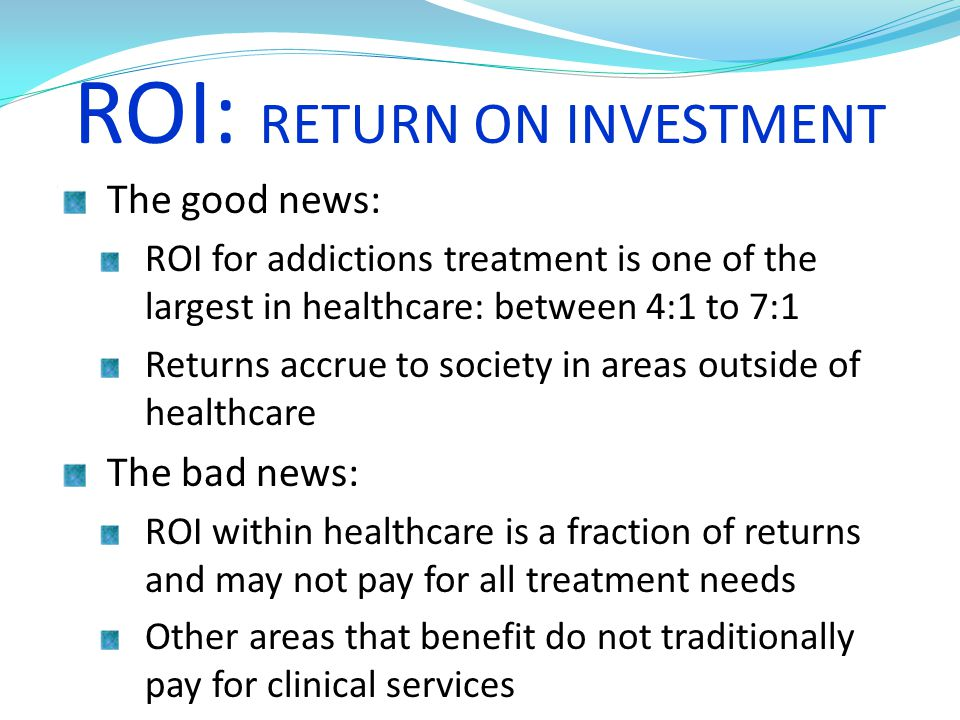 ROI: RETURN ON INVESTMENT