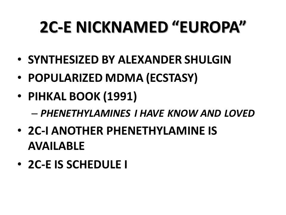 2C-E NICKNAMED EUROPA