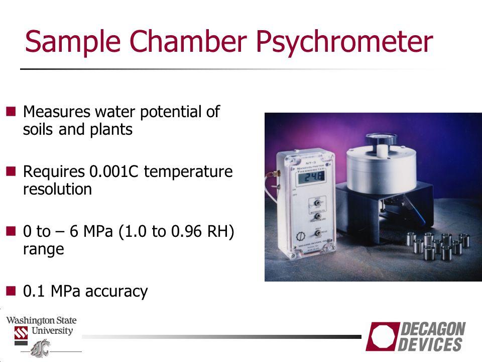 Sample Chamber Psychrometer
