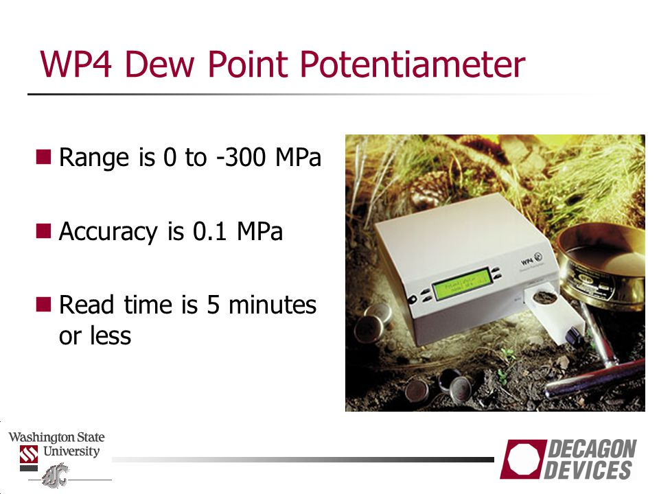 WP4 Dew Point Potentiameter