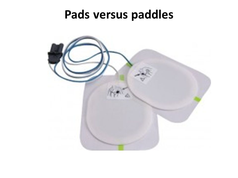 Pads versus paddles