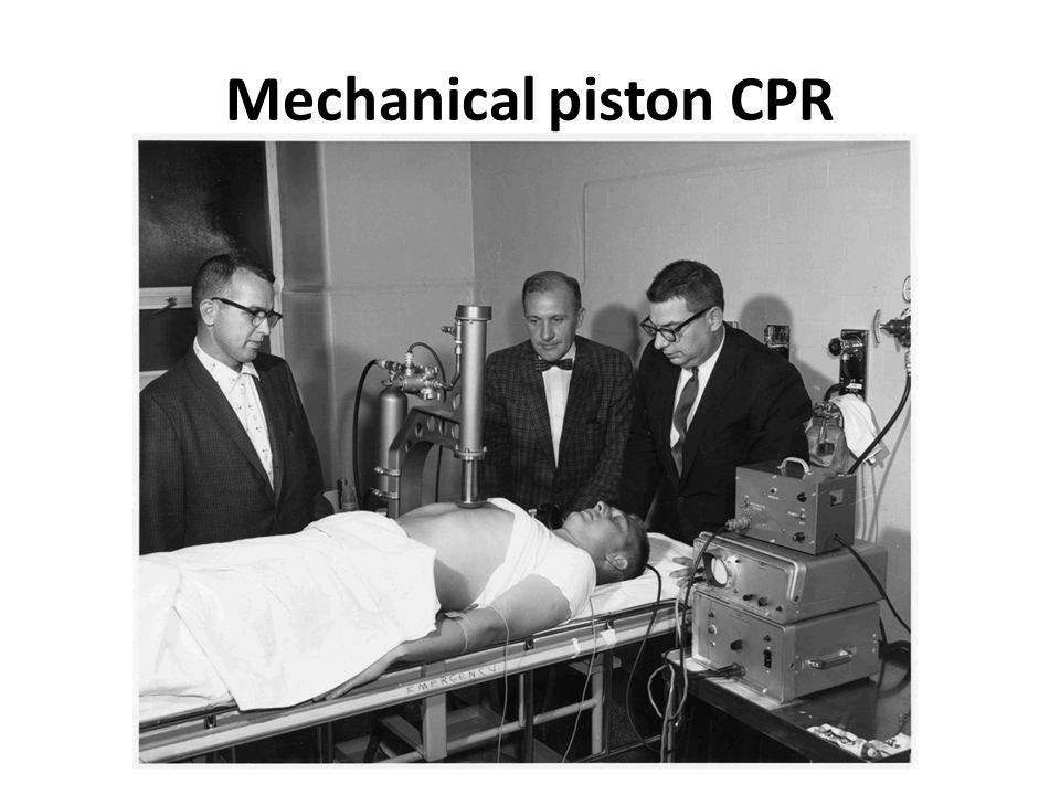 Mechanical piston CPR