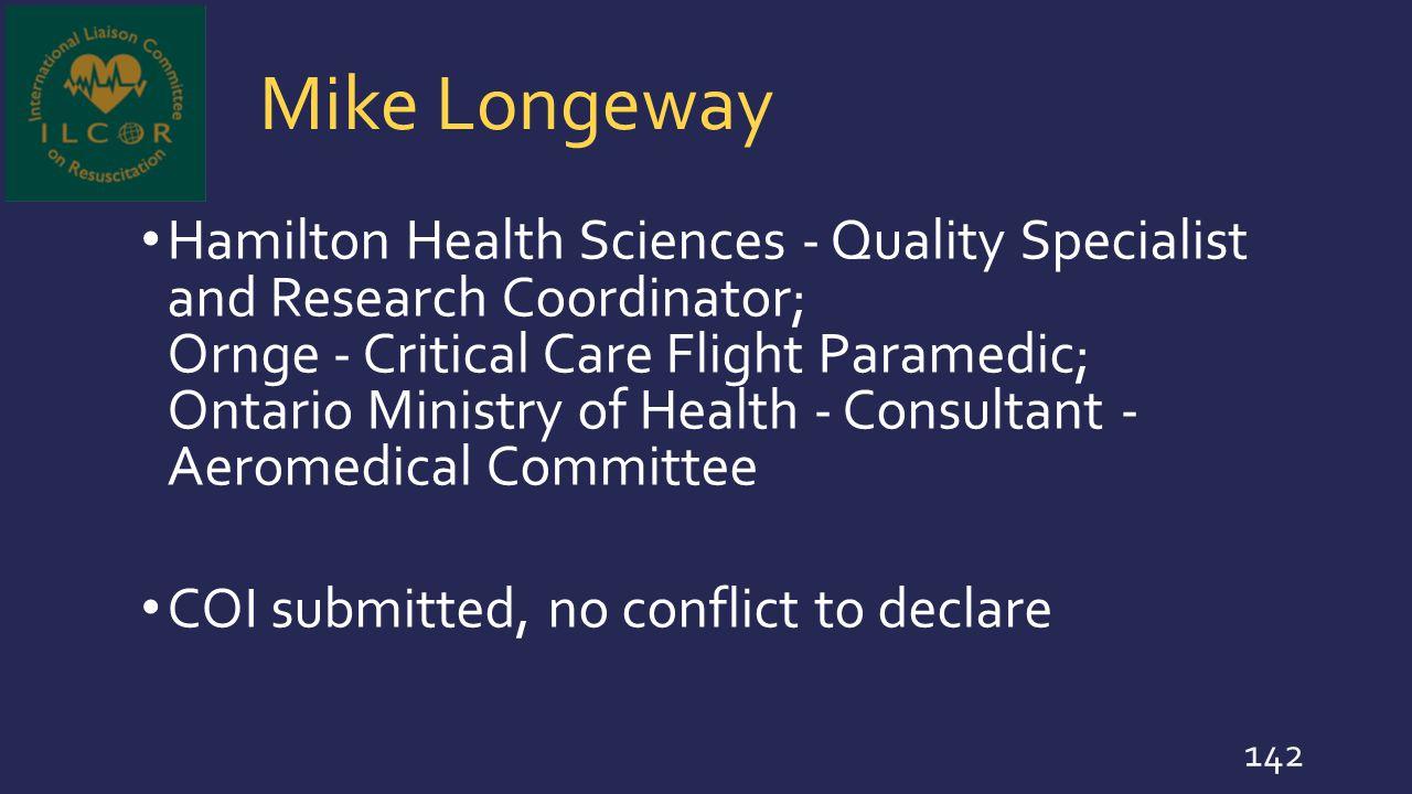 Mike Longeway
