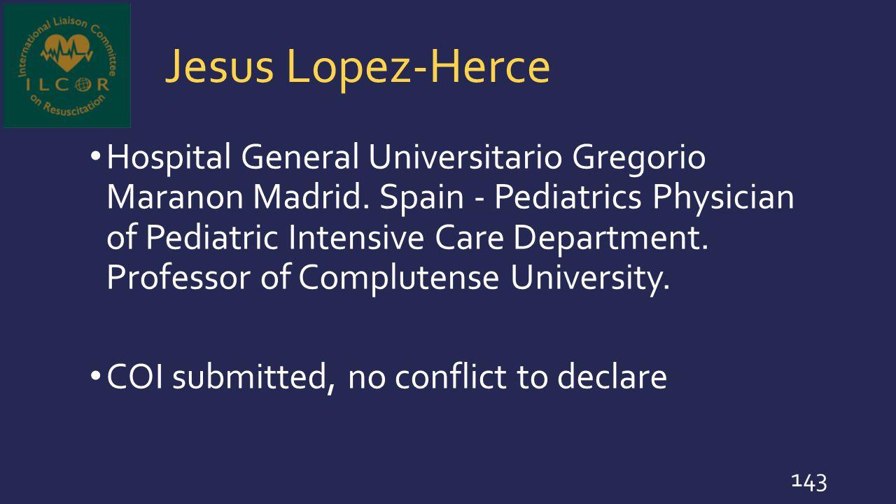 Jesus Lopez-Herce