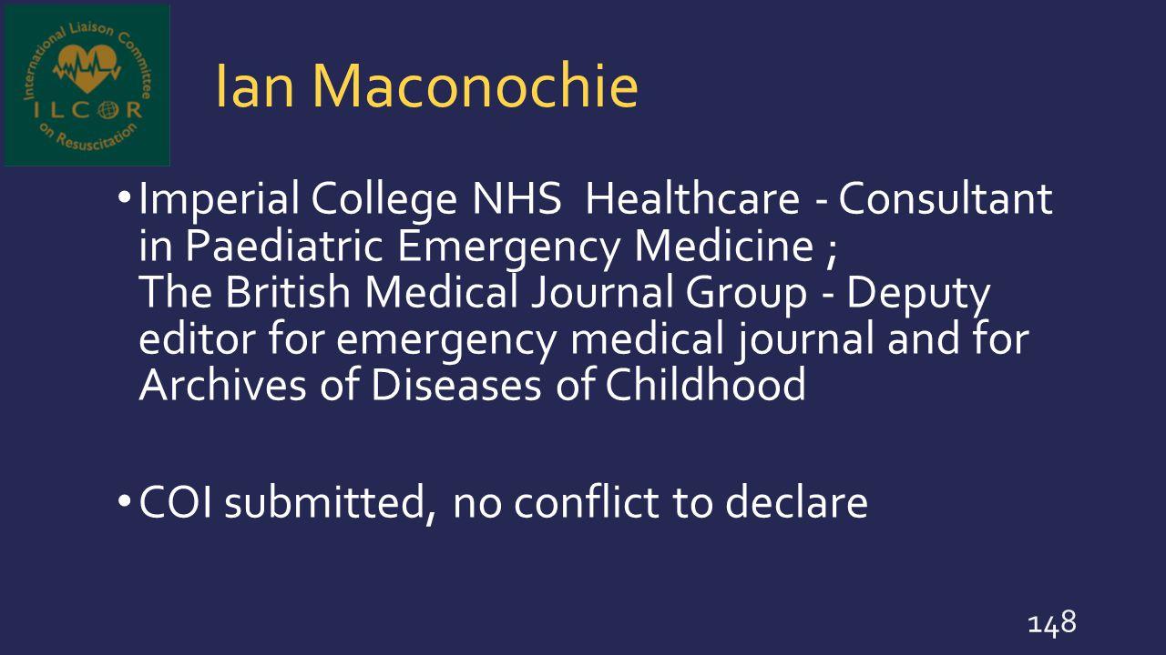 Ian Maconochie