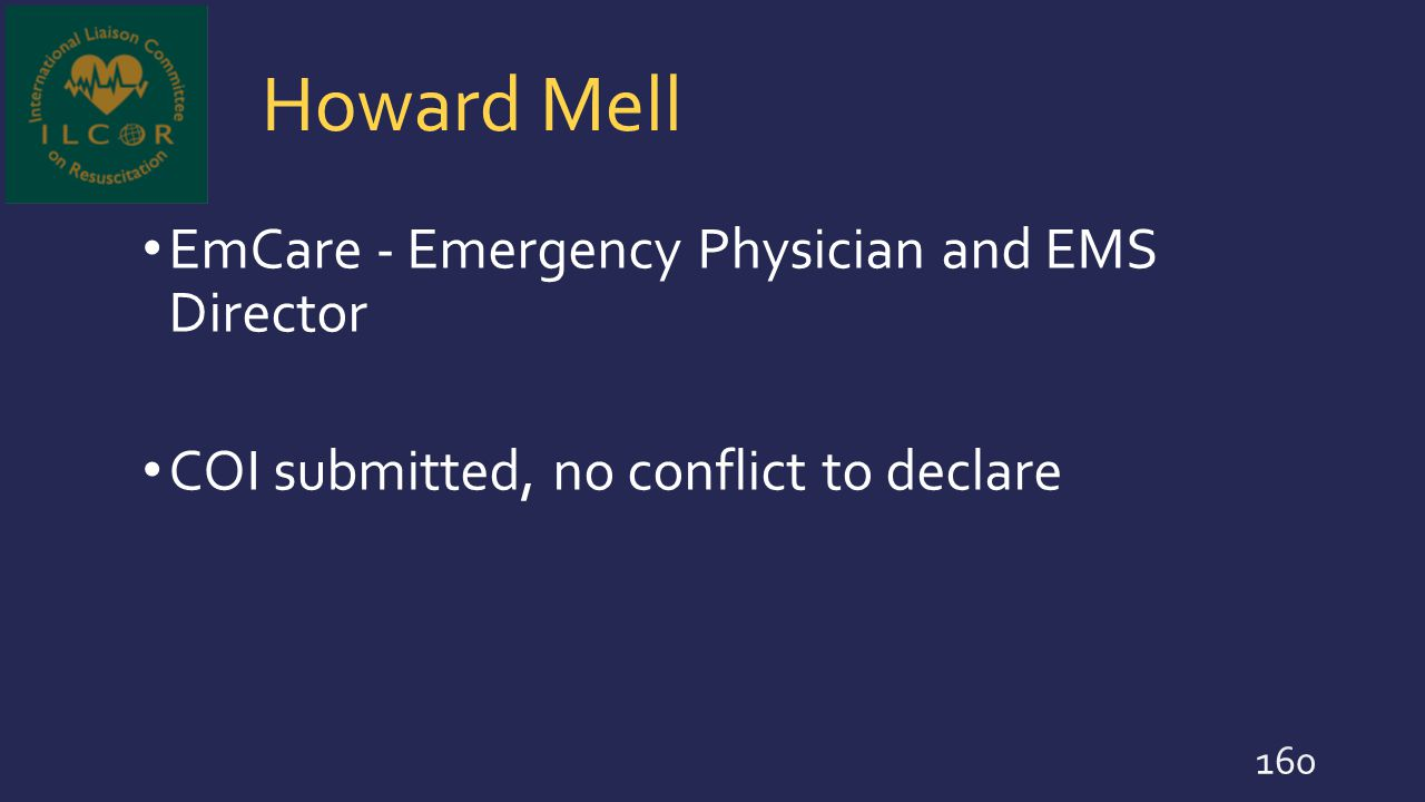 Howard Mell EmCare - Emergency Physician and EMS Director